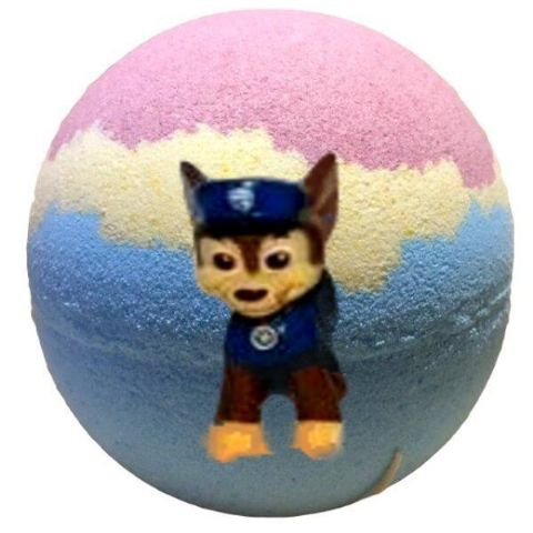 Puppy Patrol Bath Bomb With Paw Patrol Toy Figure Inside